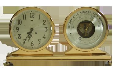 Chelsea Clock Desk and Barometer Set - After Picture