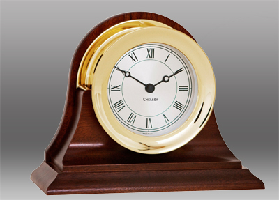 Chelsea Clock Presidential Brass Clock