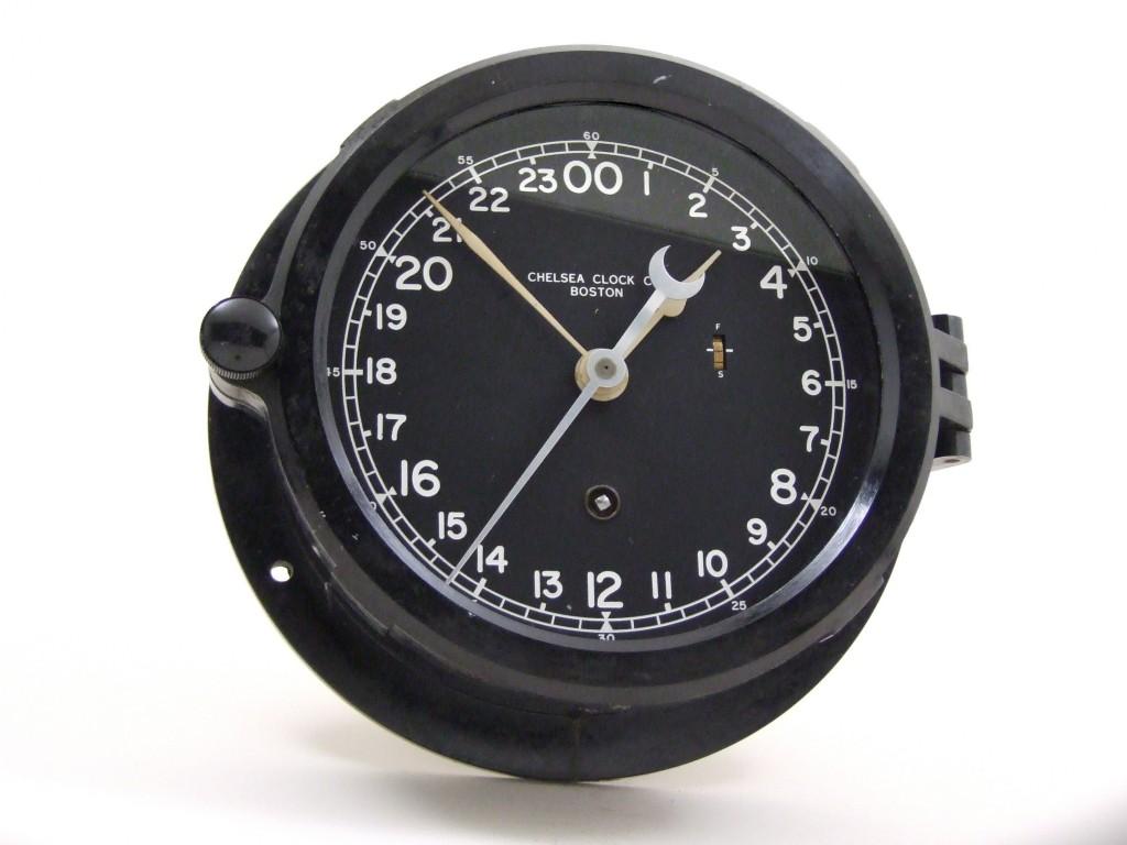 Vintage Victory Ship Chelsea Clock