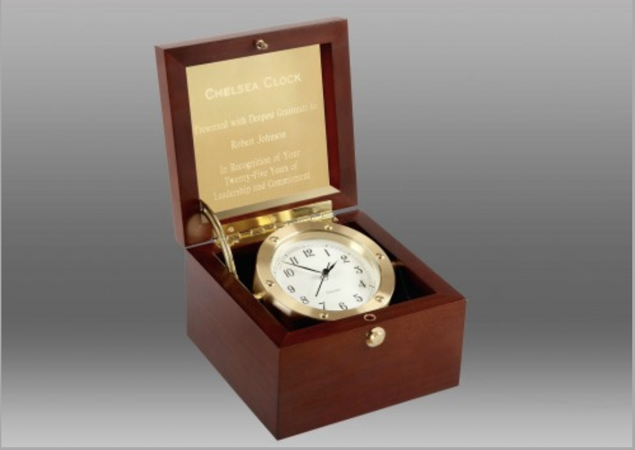 Clocks for client gifts