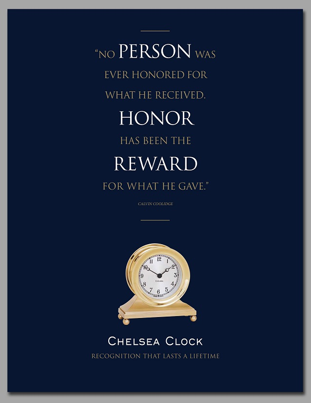 Chelsea Clock Corporate Gift