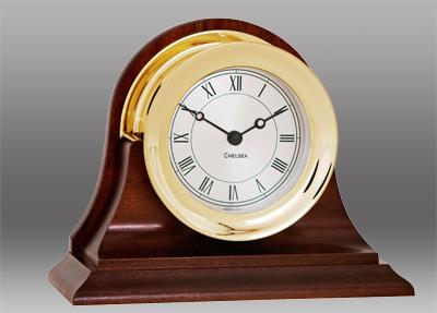 Chelsea Clock Presidential Brass Clock