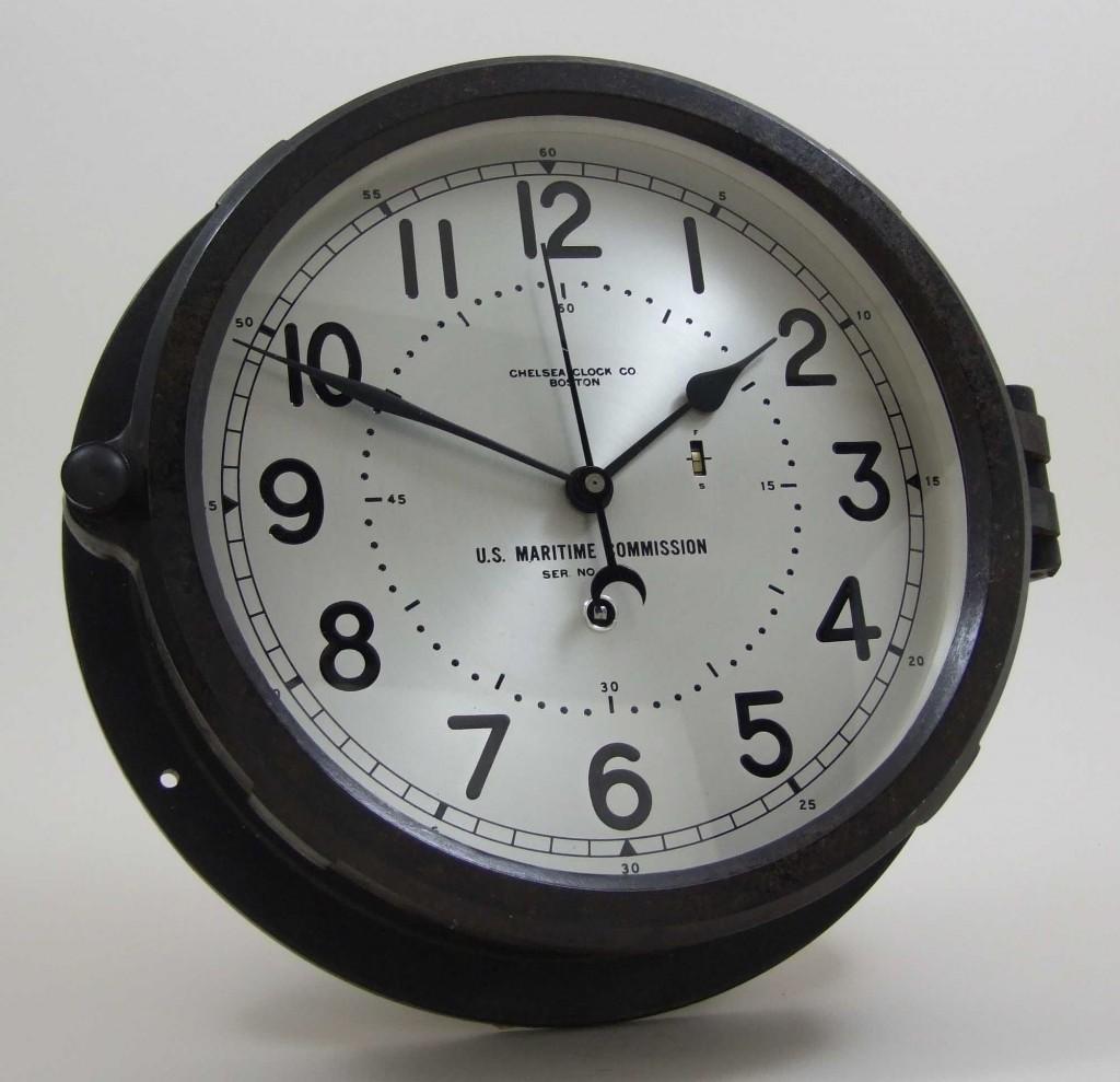 Vintage Chelsea Victory Ship Clock