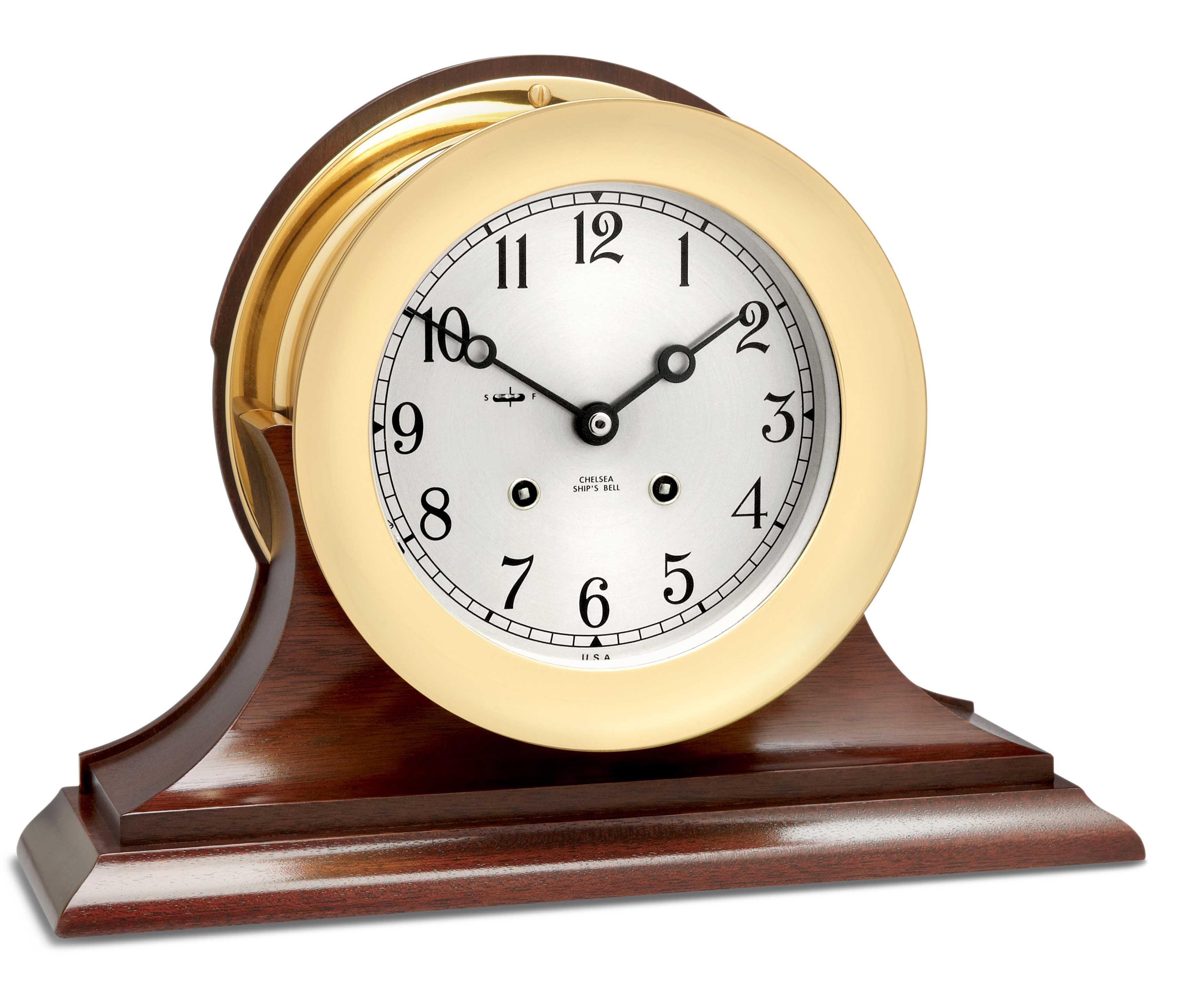 *NEW* Brass Clock Chime Bell Choose from 15 Sizes!