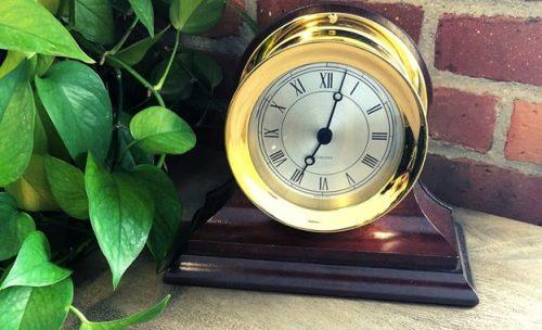 Chelsea Clock Brass Ship's Bell Clock