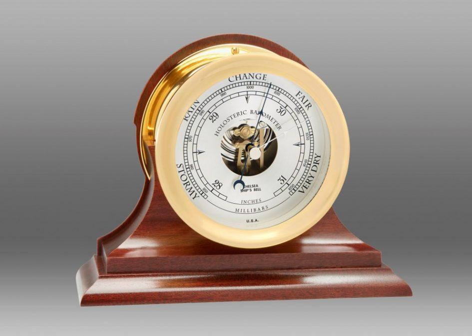 Chelsea Mahogany Barometer