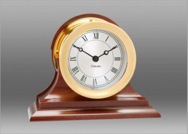 Brass Mantel Clock