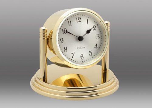 Brass Dartmouth Desk Clock