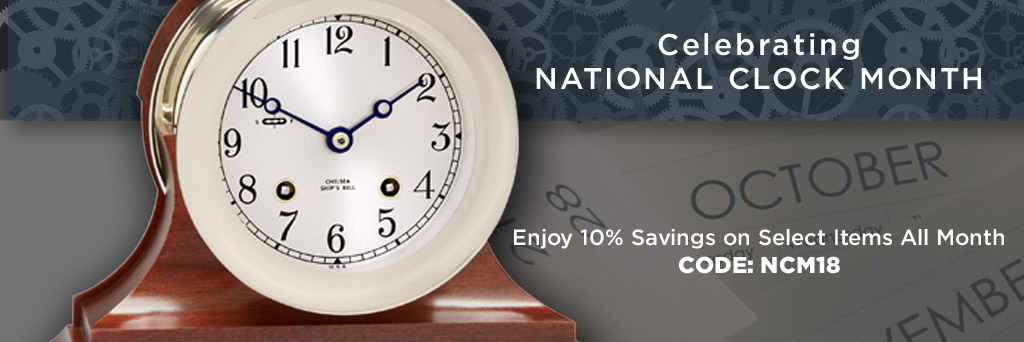 National Clock Month Sale
