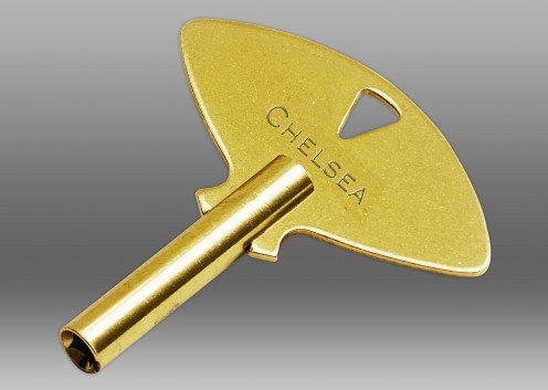 Ship's Bell Key in Brass