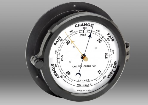"Patriot Deck Barometer - 8.5"" Dial"