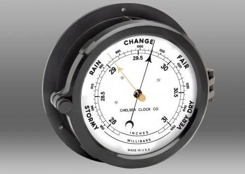 """Patriot Deck Barometer - 8.5"""" Dial"""