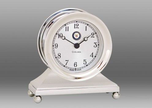 US Navy Constitution Clock in Nickel