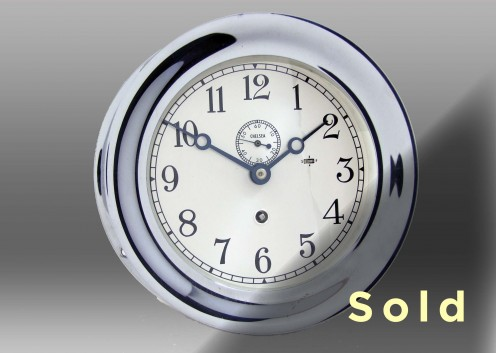 "6"" Marine Mechanical Clock, 665771"
