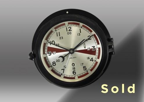 "6"" Marine Mechanical Radio Room Clock"