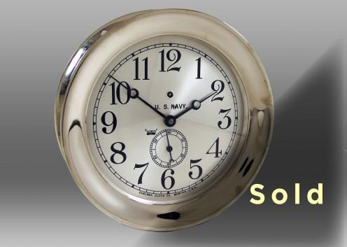 """8.5"""" Pilot House Mechanical Clock"""