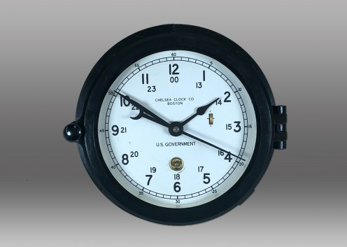 "6"" Marine Mechanical Dial Clock"