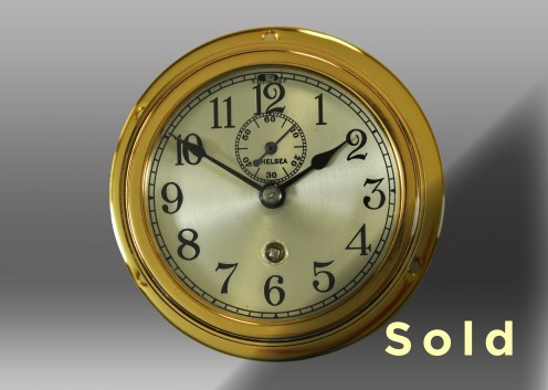 "3"" Marine Mechanical Clock"
