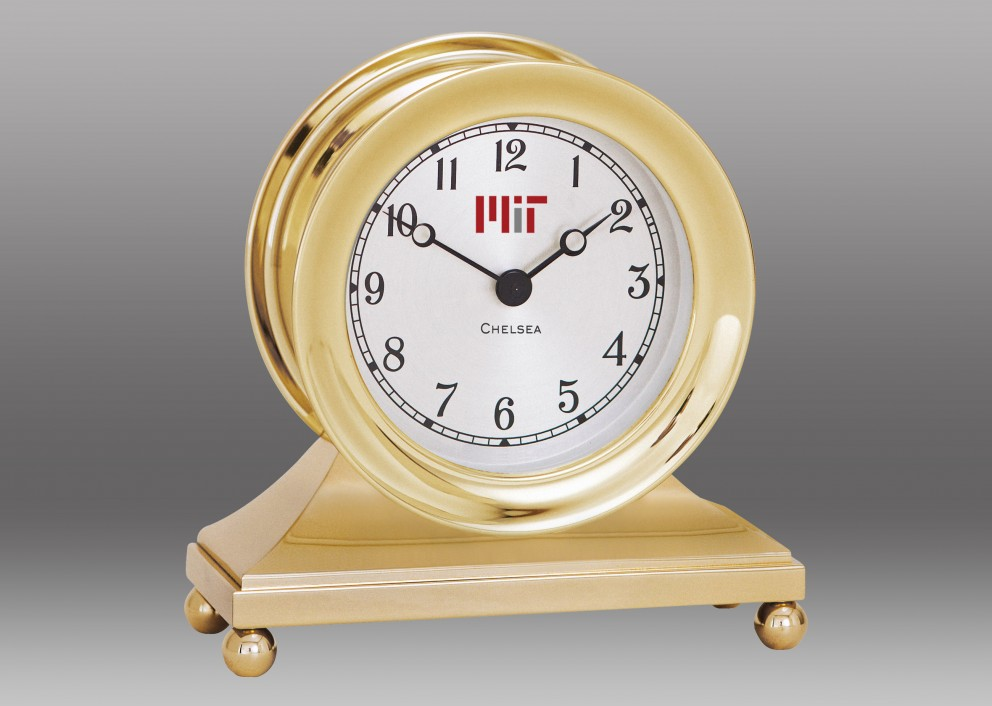 Constitution Clock in Brass