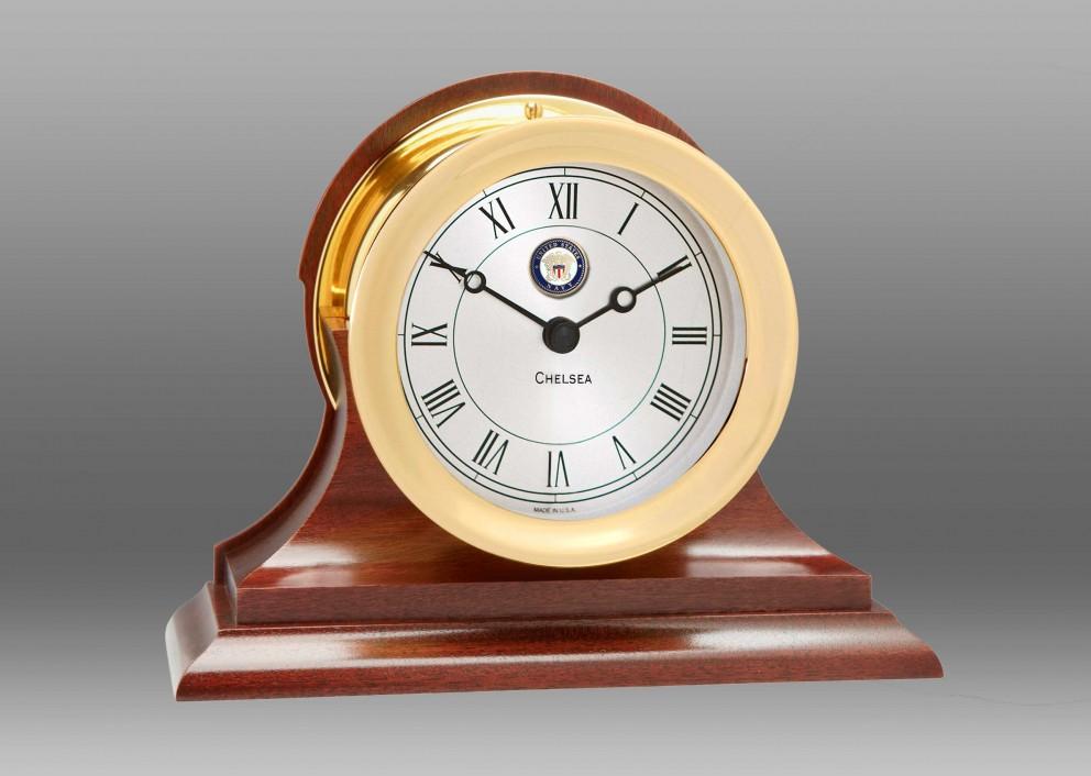 US Navy Presidential Clock in Brass
