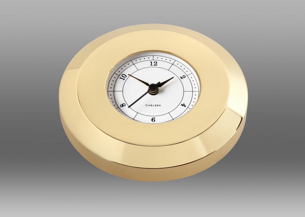 Chart Weight Clock in Brass