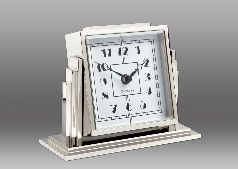 NEW! Athena Clock - White Dial