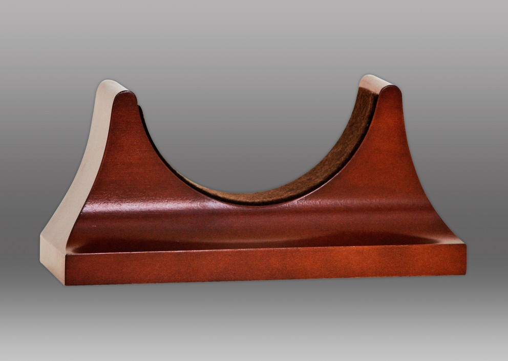 "4 1/2"" Contemporary Base in Mahogany"