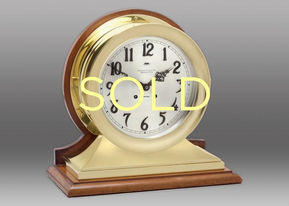 """8 1/2"""" Commander Chelsea Clock, 1909"""