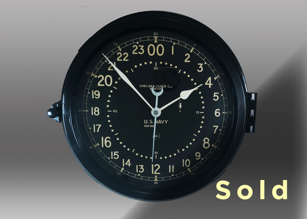 "8.5"" Marine Mechanical Clock"