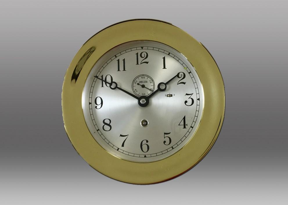 "6"" Marine Mechanical Clock, 1944"