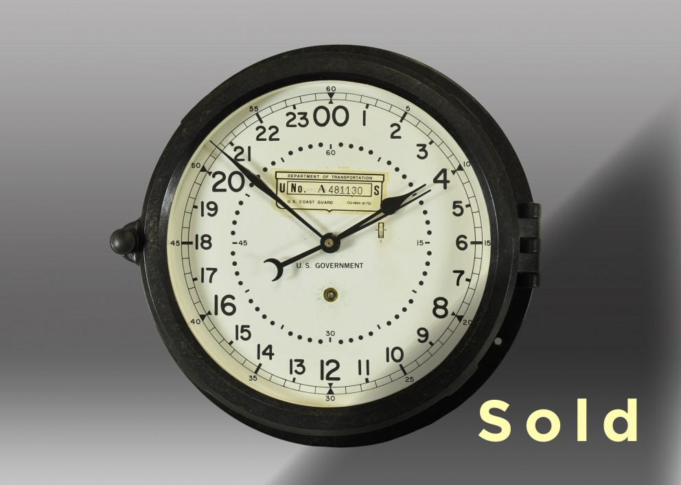 "8.5"" Marine Mechanical Clock"