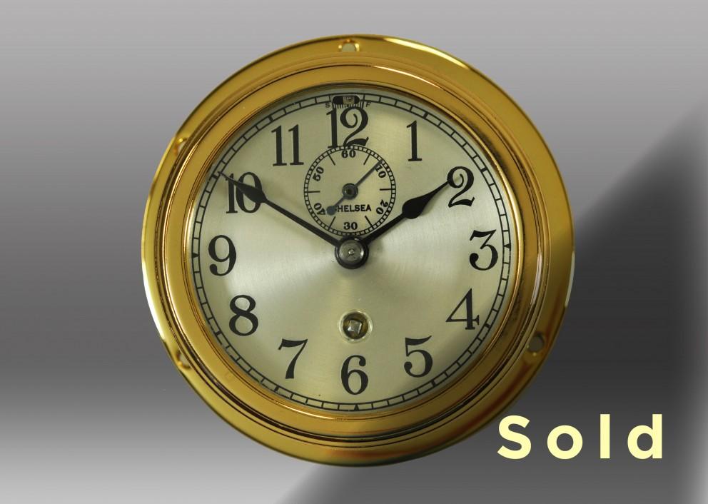"3"" Marine Mechanical Clock"