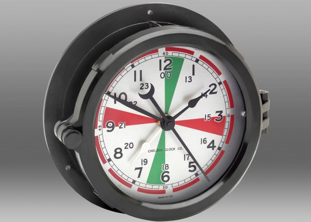 "Radio Room Clock - 8.5"" Dial"