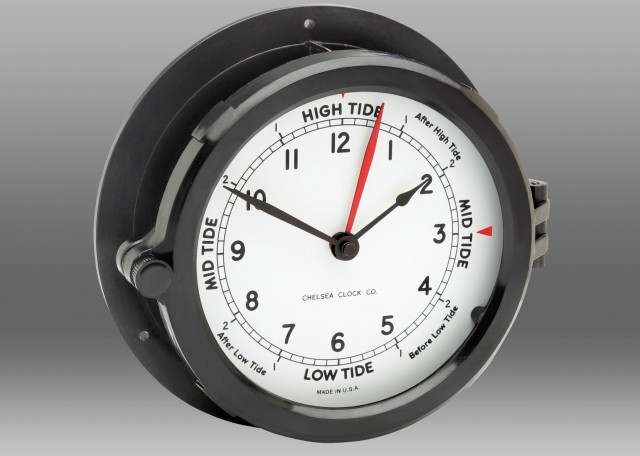 "Patriot Deck Tide-Time Clock - 8.5"" Dial"