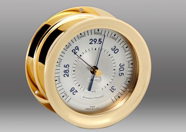 Polaris Barometer, Brass