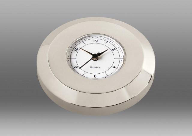 Chart Weight Clock in Nickel