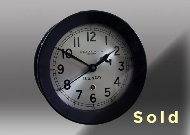 "6"" Marine Mechanical Clock"