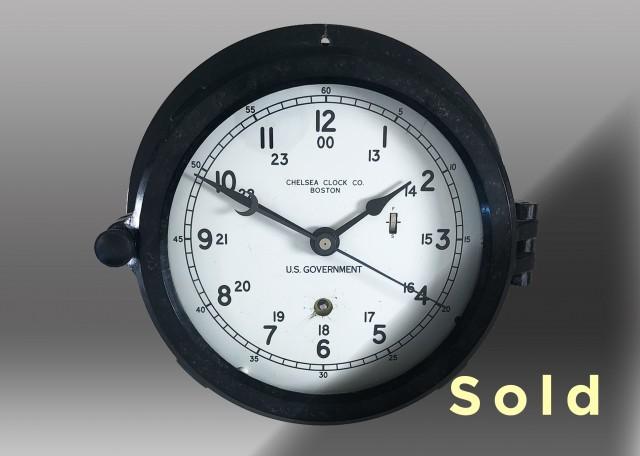 "6"" Marine Mechanical Clock, 1979"