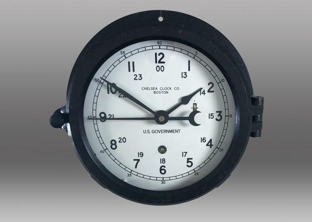 "6"" Marine Mechanical Clock, 1968"