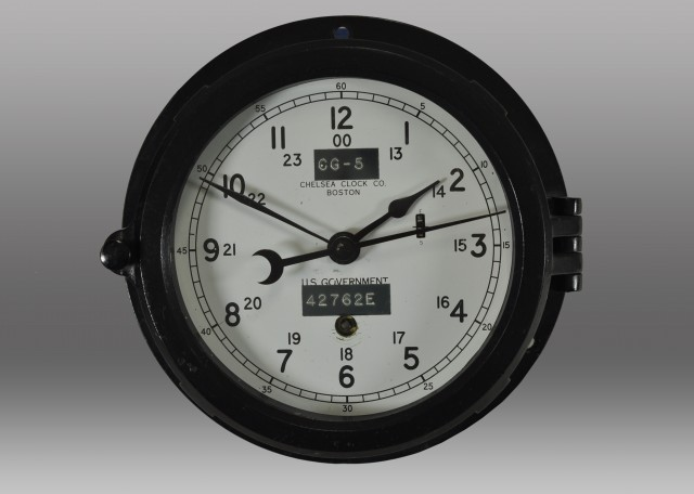 "6"" Marine Mechanical Clock, 1943"