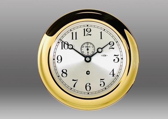 "6"" Marine Mechanical Clock, 1946"