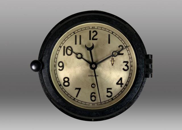 "6"" Marine Mechanical Clock, 1965"