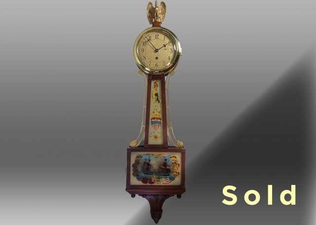 3/4 Time Only Banjo Clock, 1946