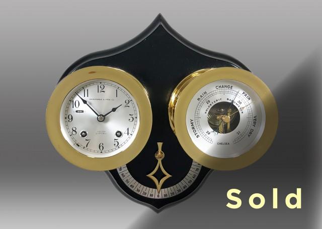 Lennox Clock and Barometer Set, 1972