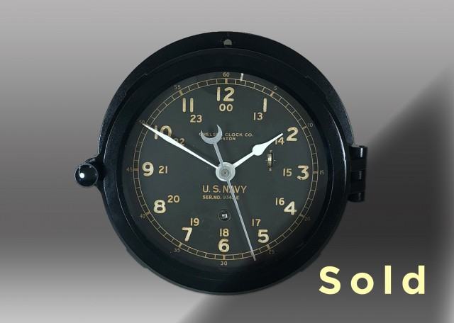 "6"" Marine Mechanical Dial Clock"