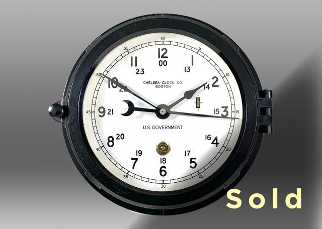 "6"" Marine Mechanical Clock, 1970"