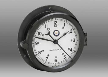 US Navy Patriot Deck Clock - White Dial