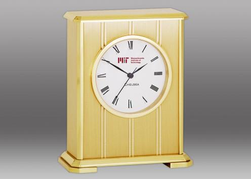 Embassy Clock in Brass