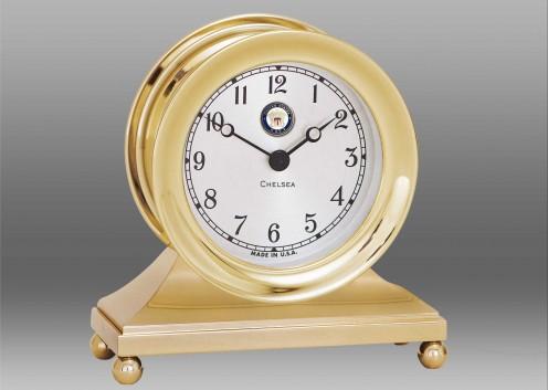US Navy Constitution Clock in Brass