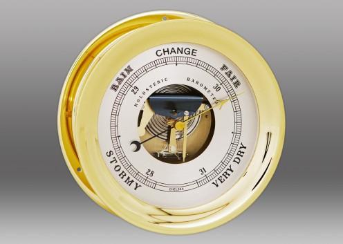 "8 1/2"" Ship's Bell Barometer in Brass"